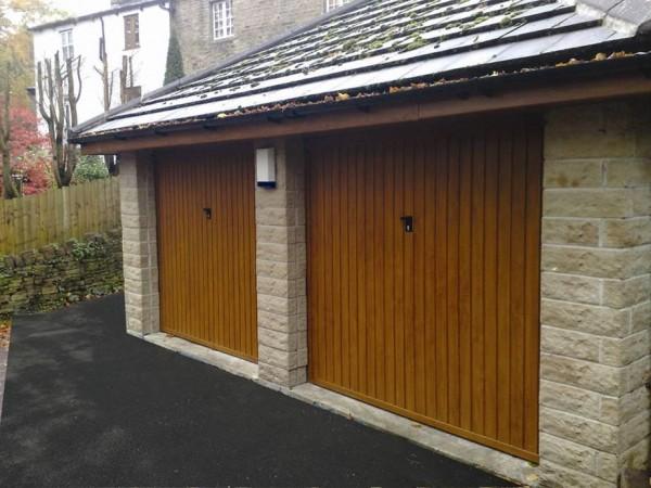 Steel Up & Over Garage Doors