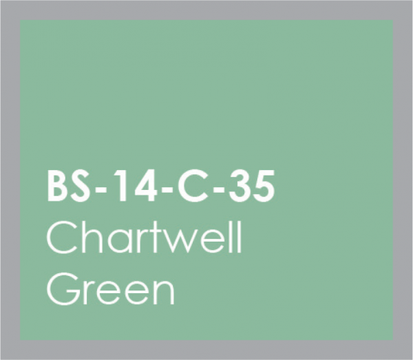 powered coated garage doors available in chart well green
