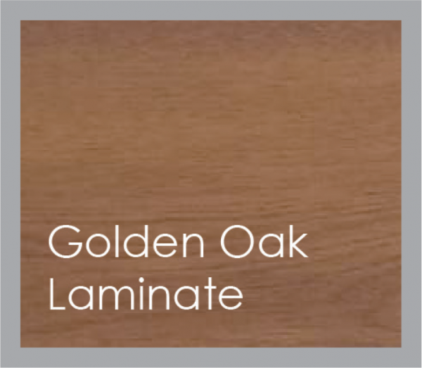 powered coated garage doors available in golden oak laminate