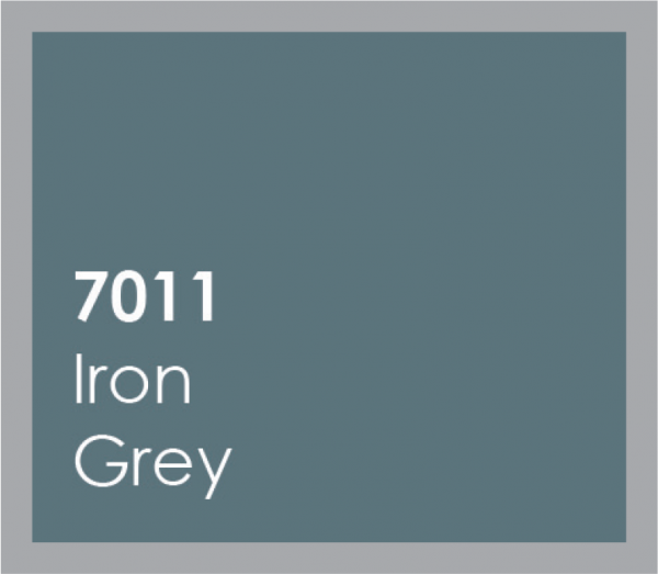 powered coated garage doors available in iron grey
