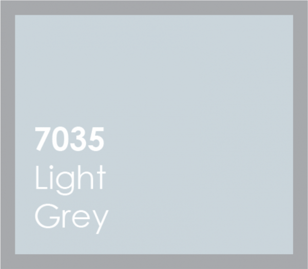 powered coated garage doors available in light grey