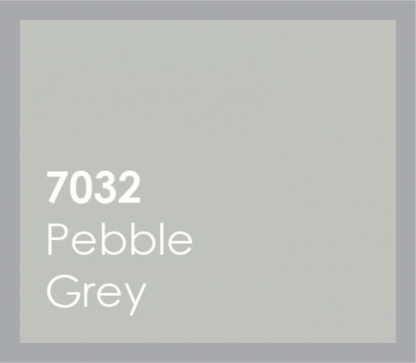 powered coated garage doors available in pebble grey