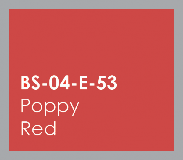 powered coated garage doors available in poppy red