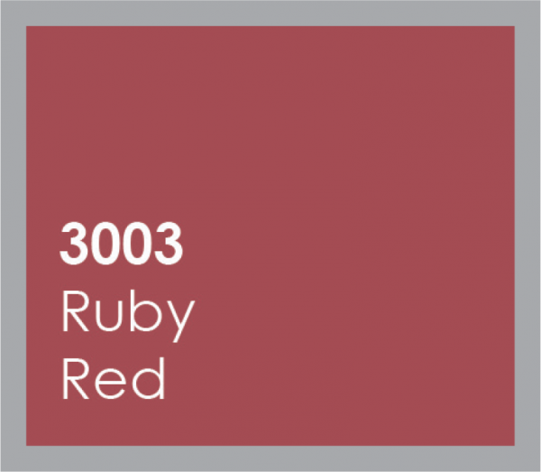 powered coated garage doors available in ruby red