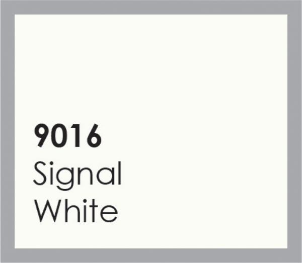 powered coated garage doors available in signal white