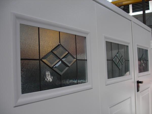 Garage door window - tiara